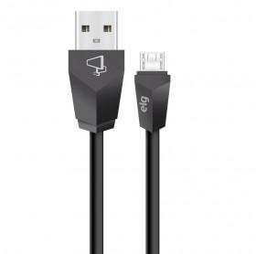 CABO USB MACHO PARA MICRO USB ELG 1.8MT PTO M518