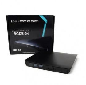 GRAVADOR DVD EXTERNO USB 3.0 BLUCASE SLIM BGDE-04 PRETO