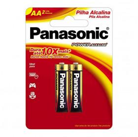 PILHA ALCALINA AA/2 PANASONIC LR6XAB/2B