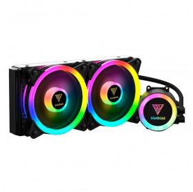 COOLER PARA CPU GAMDIAS WATERCOOLER INTEL E AMD CHIONE M2-240 LITE