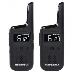 RADIO COMUNICADOR MOTOROLA T38 GO PLACES 32KM IP54 26 CANAIS