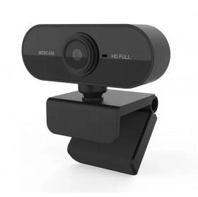 WEBCAM USB FULL HD 1080P C/MICROFONE GVBRASIL PRETA