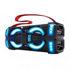 CAIXA DE SOM NOVIK NEO LIGHTX 300W RMS USB/MICRO SD BLUETOOTH C/ MICROFONE