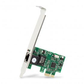 PLACA DE REDE DEX DP-02 PCI EXPRESS 1X 10/100/1000MBPS