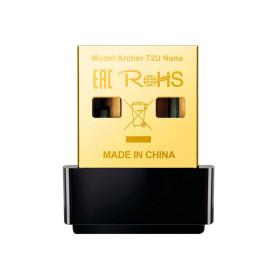 PLACA DE REDE USB TP-LINK ARCHER T2U AC600 DUAL BAND 200/433MBPS