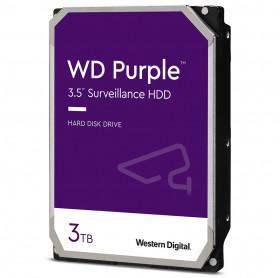 HD 3TB SATA III 3.5 WD PURPLE WD30PURX 5400 RPM 64MB - VIGILANCIA DVR