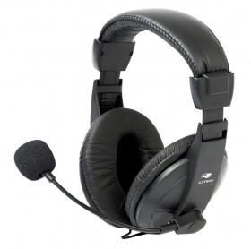 FONE COM MICROFONE P2 PH-60BK C3 TECH VOICER COMFORT PRETO