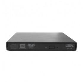 GRAVADOR DVD EXTERNO USB DEX SLIM DG-100 PRETO
