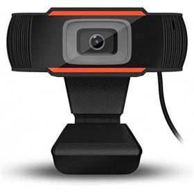 WEBCAM USB HD 720P C/MICROFONE P2 LOTUS LT-187 PRETA