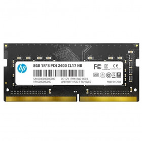 MEMORIA 8GB NOTEBOOK HP S1 DDR4 2400MHZ CL17 7EH95AA