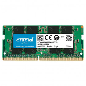 MEMORIA 8GB NOTEBOOK CRUCIAL DDR4 2666MHZ CT8G4SFRA266