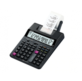 CALCULADORA DE IMPRESSAO 12 DIGITOS CASIO HR-100RC-BK