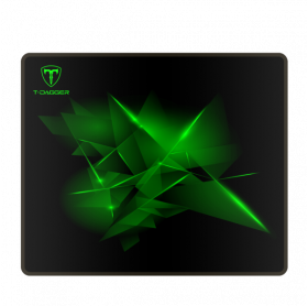 MOUSE PAD GAMING T-DAGGER T-TMP101 GEOMETRY-S 290X240X3MM PRETO/VERDE