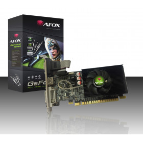 PLACA DE VIDEO 1GB DDR3 64 BITS GEFORCE G210 AFOX PCI-E 2.0 DVI/VGA/HDMI