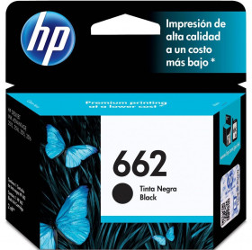 CARTUCHO HP 662 2ML CZ103AB PRETO 2515/2516/3515/3516