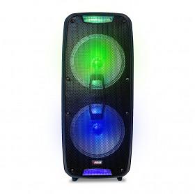 CAIXA DE SOM NOVIK NEO XBLAST RGB USB/MICRO SD BLUETOOTH C/ MICROFONE