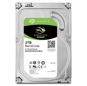 HD 2TB 3.5 SATAIII 6.0GB/S 7200RPM 64MB SEAGATE BARRACUDA ST2000DM006