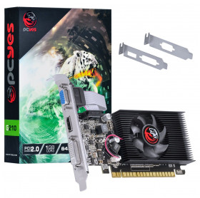 PLACA DE VIDEO 1GB DDR3 64 BIT GEFORCE GT210 PCYES PCI-E 2.0 VGA/HDMI/DVI