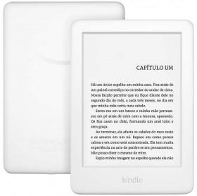 E-READER KINDLE 10ª GERAÇÃO BRANCO 8GB WI-FI TELA 6