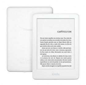 E-READER KINDLE 10ª GERAÇÃO BRANCO 4GB WI-FI TELA 6