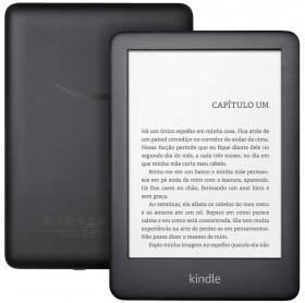E-READER KINDLE 10ª GERAÇÃO PRETO 8GB WI-FI TELA 6