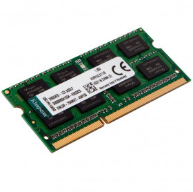 MEMORIA 8GB NOTEBOOK KINGSTON LOW VOLTAGE DDR3L 1600MHZ PC3L-12800 KVR16LS11/8