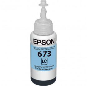 REFIL DE TINTA EPSON T673520 CIANO CLARO 70 ML L800 L805 L810 L850 L1800