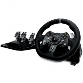 VOLANTE LOGITECH G920 C/PEDAL PARA PC/XBOX ONE DRIVING FORCE PRETO 941-000122