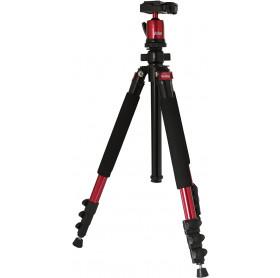 TRIPE VIVITAR VIV-MPT-600-RED MAGNÉSIO PARA CAMERA FOTOGRAFICA 1.57CM 5KG