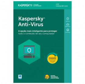ANTIVIRUS KASPERSKY KAV C/1 LICENÇA KL1171K5AFS-9