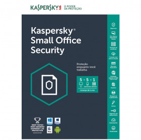 ANTIVIRUS KASPERSKY SMALL OFFICE SECURITY 5 PCS + 1 SERVIDOR