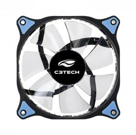 COOLER PARA GABINETE 12CM LED AZUL C3TECH STORM F7-L130BL