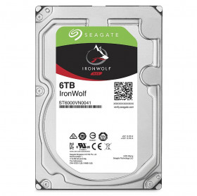 HD 6TB SATA III 3.5 SEAGATE IRONWOLF 7200RPM 128MB ST6000VN0041