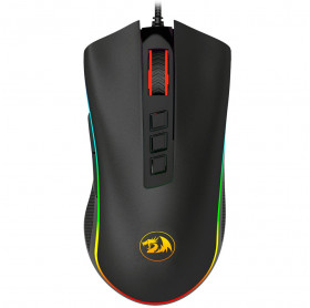 MOUSE USB GAMING REDRAGON M711 COBRA 10000DPI PRETO