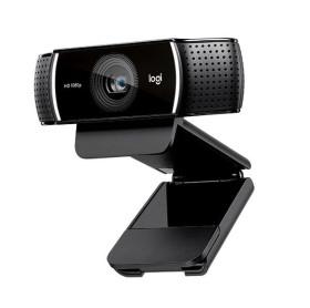 WEBCAM C922 PRO STREAM LOGITECH FULL HD 1080P PRETA C/ TRIPE 960-001087
