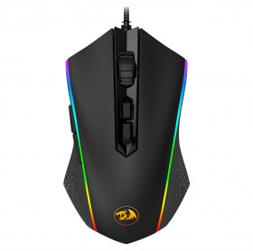 MOUSE USB GAMING REDRAGON M710 MEMEANLION RGB 10000DPI PRETO