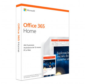 MICROSOFT OFFICE 365 HOME 2019 ATE 6 USUARIOS 6GQ-00952