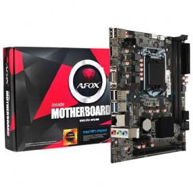 PLACA MAE AFOX IH81-MA6 4 GERACAO 1150 INTEL I3/I5/I7 DDR3 1600/1333/VGA/HDMI