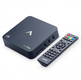 RECEPTOR SMART TV BOX ANDROID 7.1 1GB RAM/8GB ROM WI-FI 4K HDMI SD/MMC AQUARIO