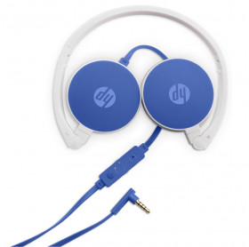 FONE COM MICROFONE P2 HP H2800 AZUL W1Y20AA