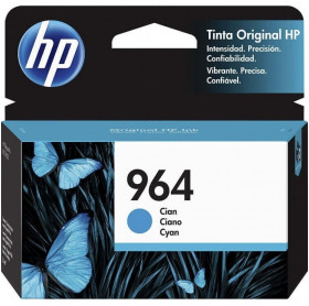 CARTUCHO HP 964 11.5ML 3JA50AL CIANO OFFICEJET PRO 9010 9020