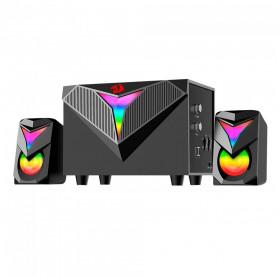 Caixa de Som 2.1 USB P2 Redragon Gamer Toccata RGB GS700