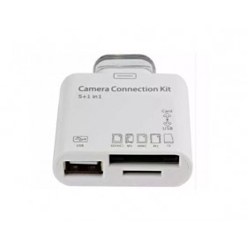 ADAPTADOR DE CAMERA PARA IPAD VIA USB/SD CARD