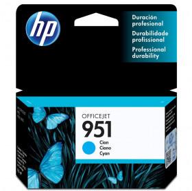 CARTUCHO HP 951 8,5ML CN050AB AZUL PRO8100/8600 PRO 276DW 251DW