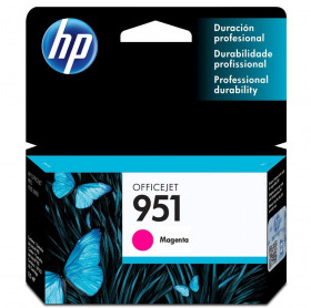 CARTUCHO HP 951 8ML CN051AB  MAGENTA PRO8100/8600 PRO 276DW 251DW