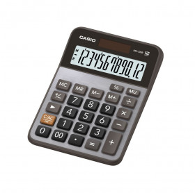 CALCULADORA DE MESA 12 DIGITOS PRATA CASIO MX-120B