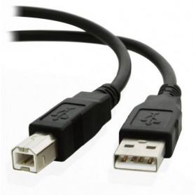 CABO USB 2.0 AM/BM 1.8MT GVBRASIL CBU.018 - IMPRESSORAS