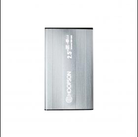 GAVETA EXTERNA HOOPSON CHD-002 HDD/SSD 2.5 USB 2.0 PRATA