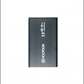 GAVETA EXTERNA HOOPSON CHD-001 HDD/SSD 2.5 USB 2.0 PRETA