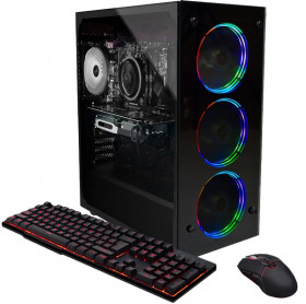 Computador FlyPC Gamer Intel i3 9100F, 8Gb Ram, Ssd 240Gb, GTX1650 4Gb - Linux